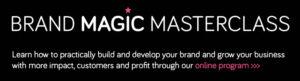 Brand Magic Masterclass, online business and personal branding program