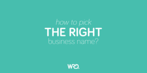 How to pick the right business name