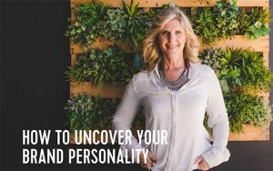 Debbie O'Connor brand strategist how to uncover your brand personality for BMW Marquee