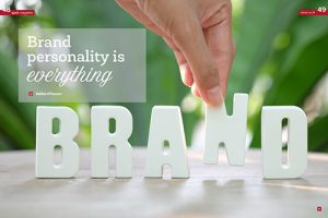 Debbie O'Connor brand strategist writes about Brand Personality in Spark Magazine